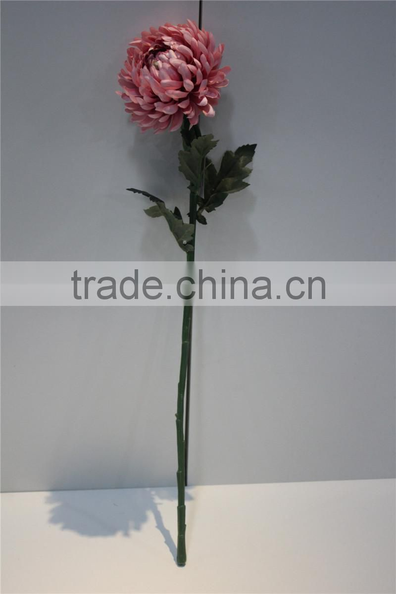 brand name decorative artificial flowers fabric chrysanthemum