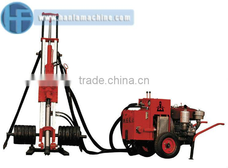 HFY90 Portable Airdraulic DTH Drilling Machine