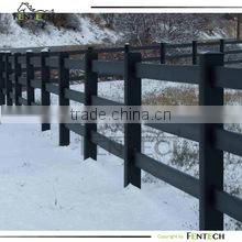 Privace pvc white picket fence and gate for yard house garden