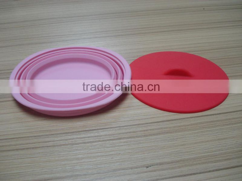 Silicone Collapsible Pet Bowl Outdoor Feeding Food Drink bowl