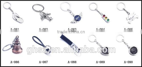 Personalized metal new idea traffic lights keyrings for sale
