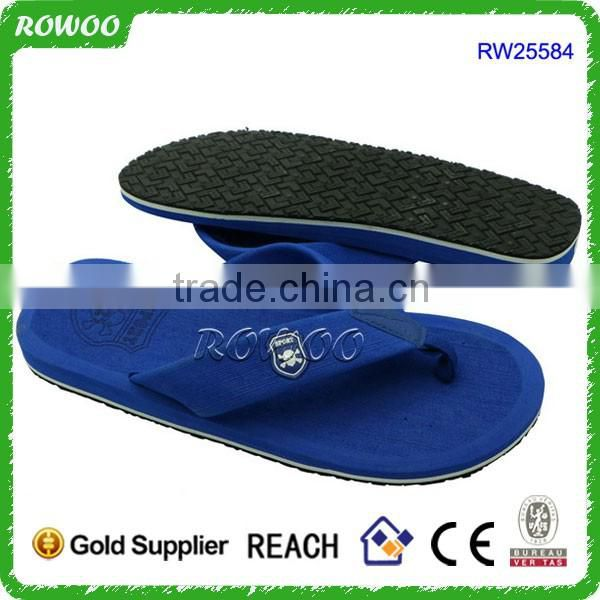 Comportable Footbed Cool Looking Style Slipper Men's Rubber Sandal Slipper