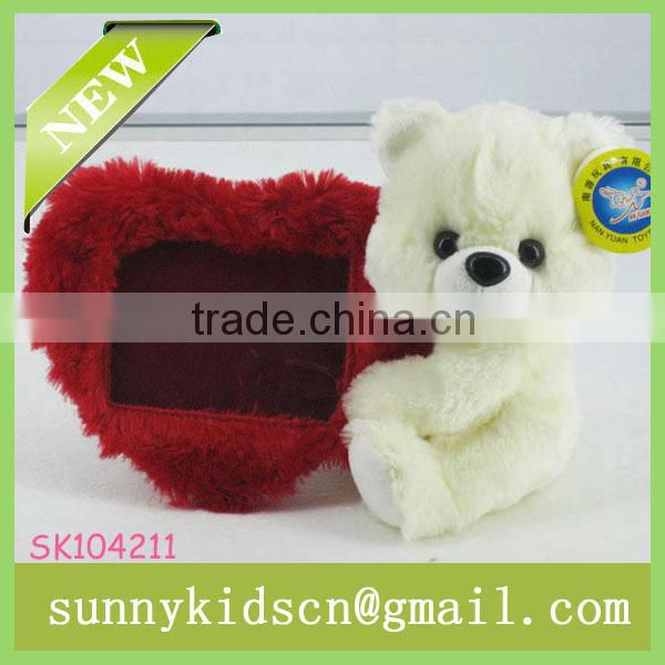 2014 toys fiberfill bear toys customized stuffed toys soft plush bear plush beige bear