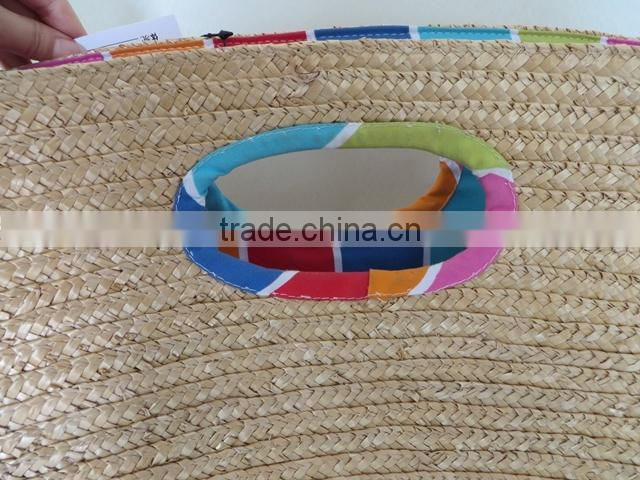 Wholesale straw woven handbags designer straw handbags