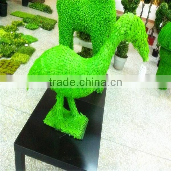 Amusement park deco grass ornamental artificial animal