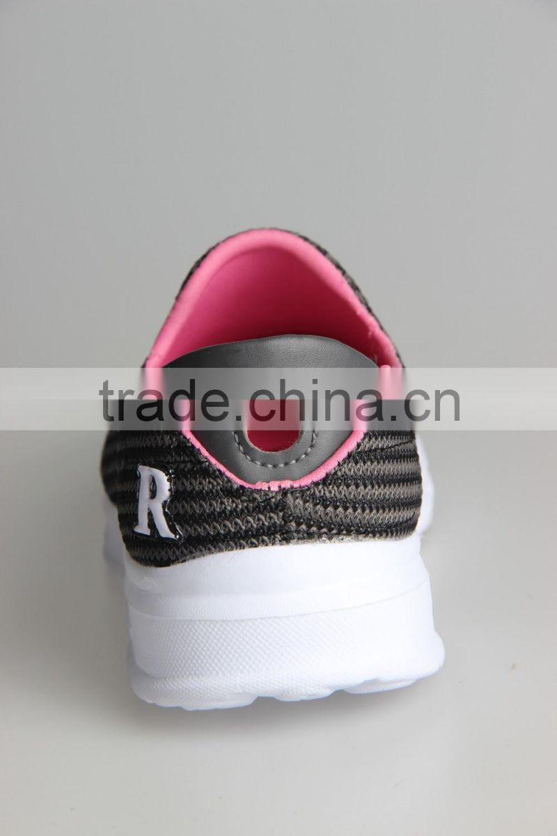 summer slip on running shoes sport lazy network shoes wrapping breathable mesh lightweight shoes