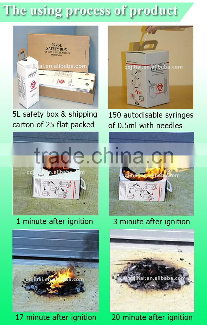 names of medical instruments disposable waste paper box for sharps