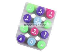 The cheap wholesale Silicone Rubber Keypad