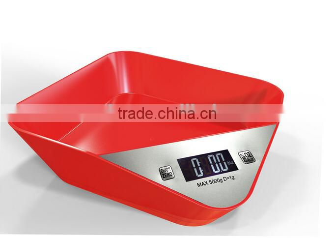 Colorful Digital kitchen scale digital scale battery kitchen scale