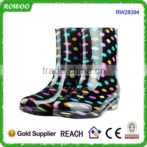 short rain boots for women, Martin pvc rain boots for men