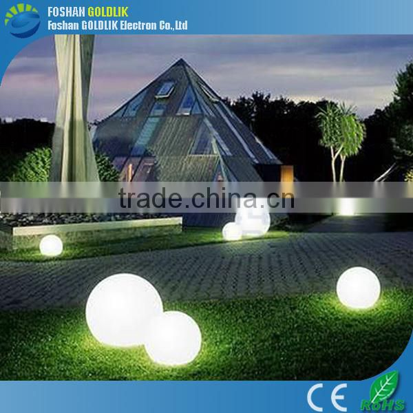 led ball lights with 16 colors change have 20/25/30/35/40/50/60/80cm size for choosing
