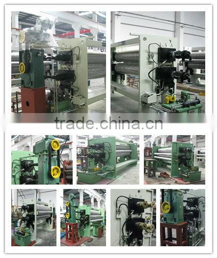 baby diaper and sanitary napkin usage of pp nonwoven fabric calender machinery