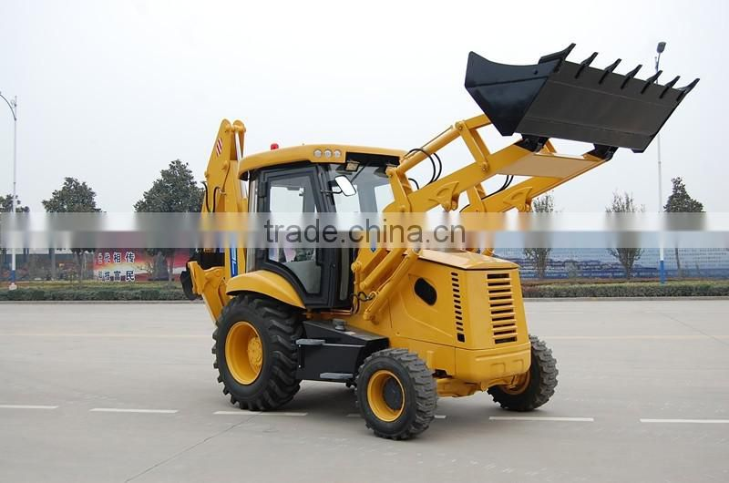 WZL25-10B towable backhoe loader