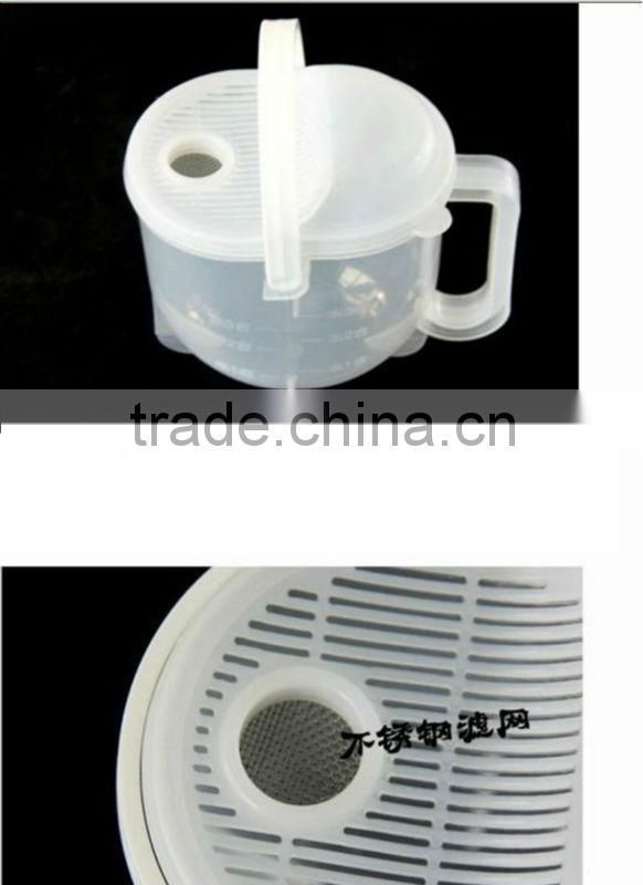 Convenient White Convection-like Plastic Resin Rice Cleaning Machine