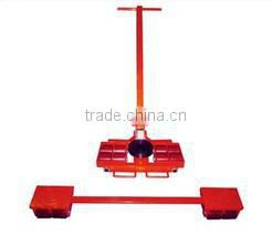 360 degree heavy duty material handling industrial cargo trolley
