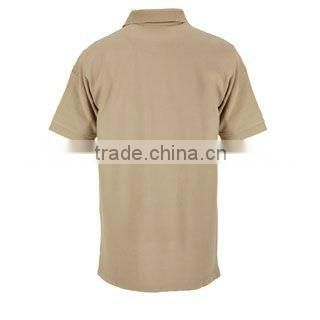 Army Polo Shirt With Short Sleeve