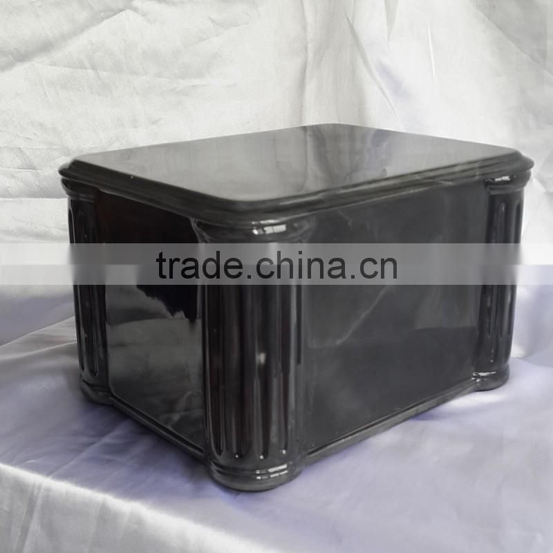 2016 New style atificial marble resin cremation urn for ashes