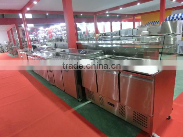 Under Counter Refrigerator Freezer Work bench (ZQR-1200C)