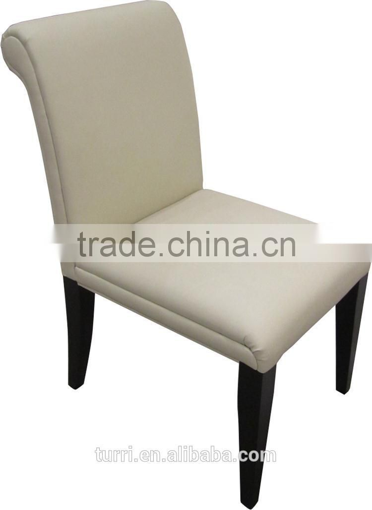 modern white leather dining chair,restaurant dining chair