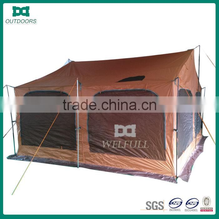 Large luxury capacity 20 person camping tent
