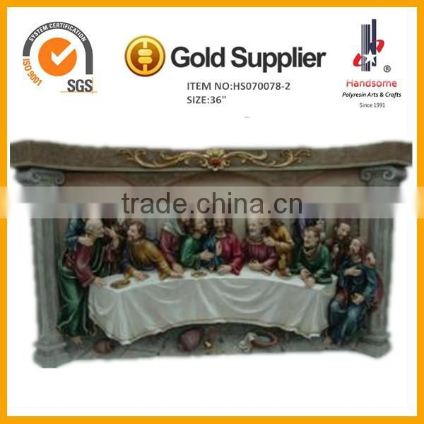 "36""Last supper porcelain arts and crafts for home decoration"
