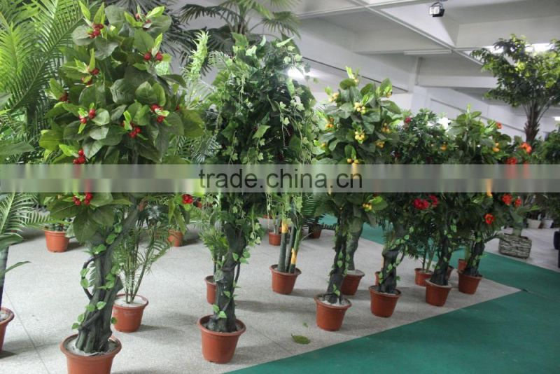 Tropical Mango trees for sale Chinese goods wholesale artificial mango tree