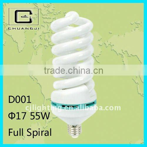 D001 good quality durable cheap 220v spiral energy saving lamp