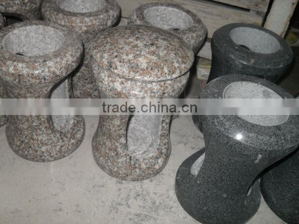 G664 Granite Chinese Stone Lantern For Cemetery