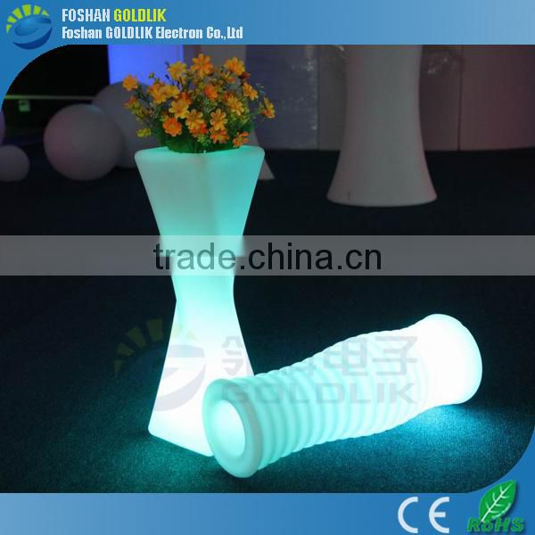 WIFI Control Home Decorative Glowing Flower Pot Light LED