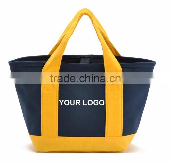 High quality reusbale customized polyester or canvas beach tote bag