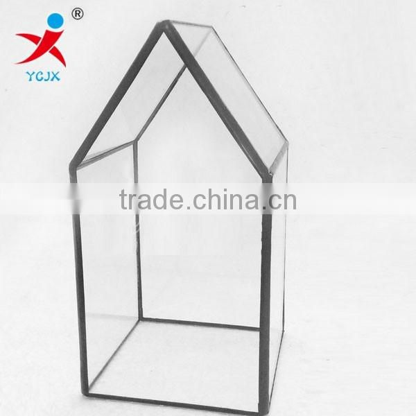 Factory outlet chimney/landscape/micro geometry meat wholesale glass greenhouse