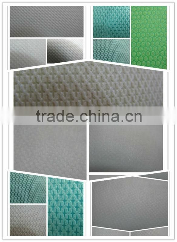 nonwoven chemical for polyester staple fiber hot roller calender making machine