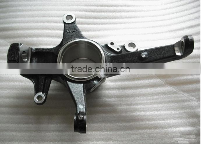Forging of automobile steering knuckle parts