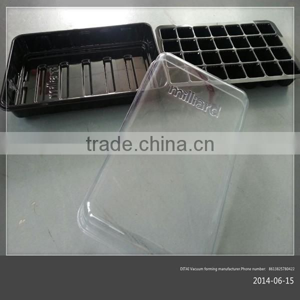 Customized transparent vacuum forming products