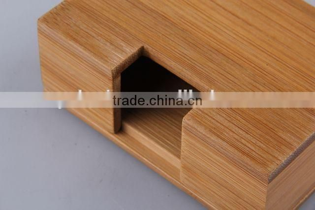 separable rectangular bamboo name card box