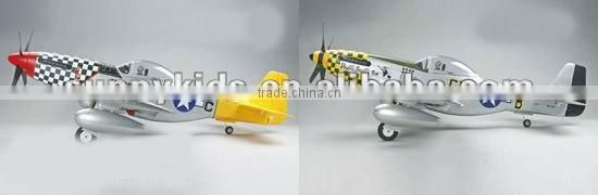 RC Airplane 500Class P-51D Mustang hobby airplane