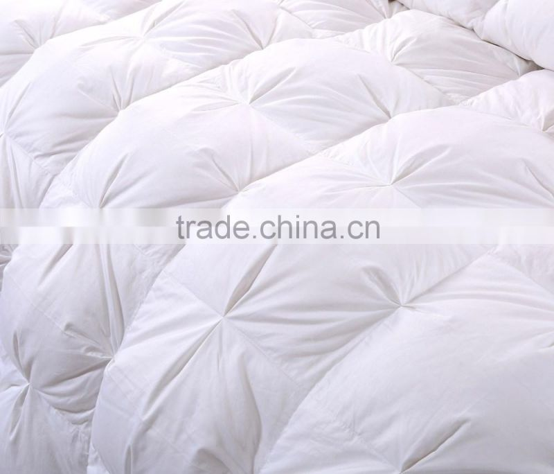2016 New Style Luxury,High quality,Warm White goose down duvet from china