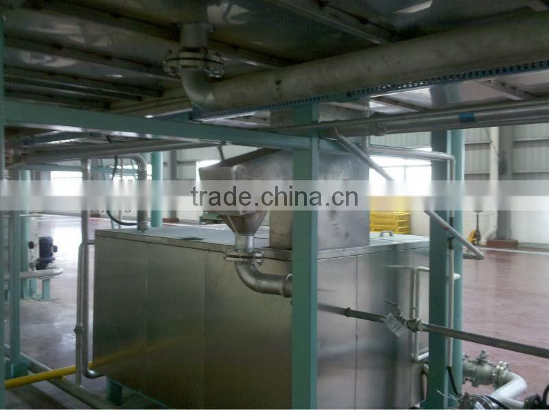 Qingdao aluminium profile power and free conveyor powder coating line for sale