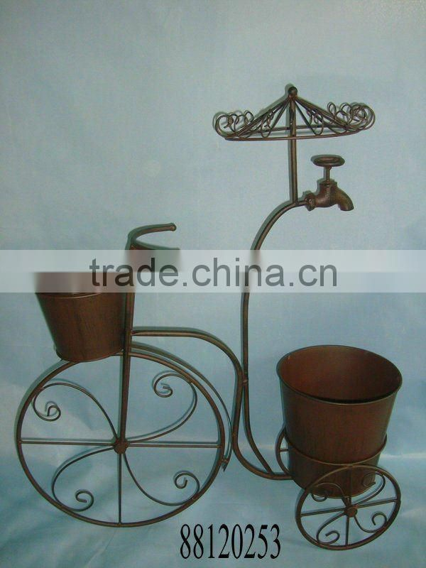 Iron Bicycle Plant holder