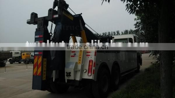 Factory sale 6*4 SINOTRUK HOWO Tow Truck 25ton