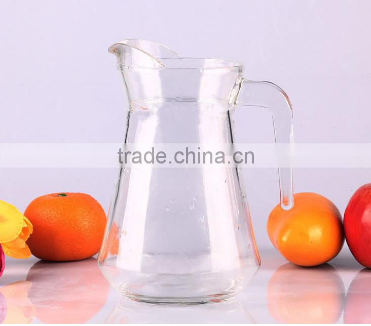 Hot selling good quality glass drinking water juice jug & insulated milk jug
