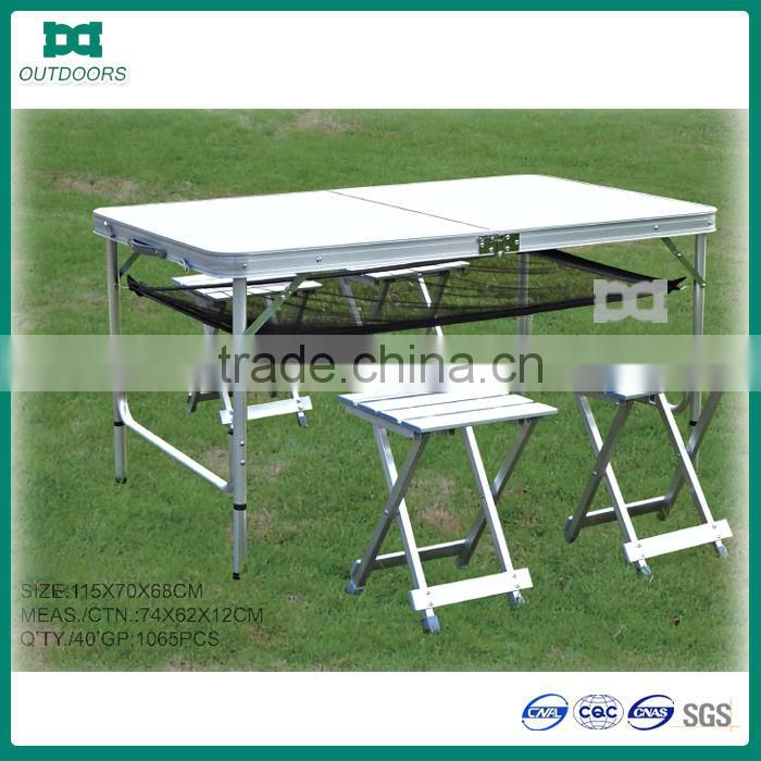 folding table aluminum camping table