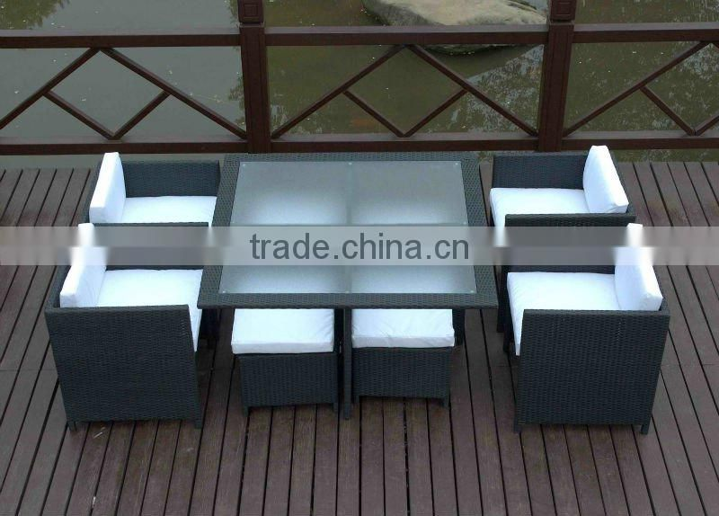 Set Sofa Type and Outdoor Furniture General Use rattan sofa set