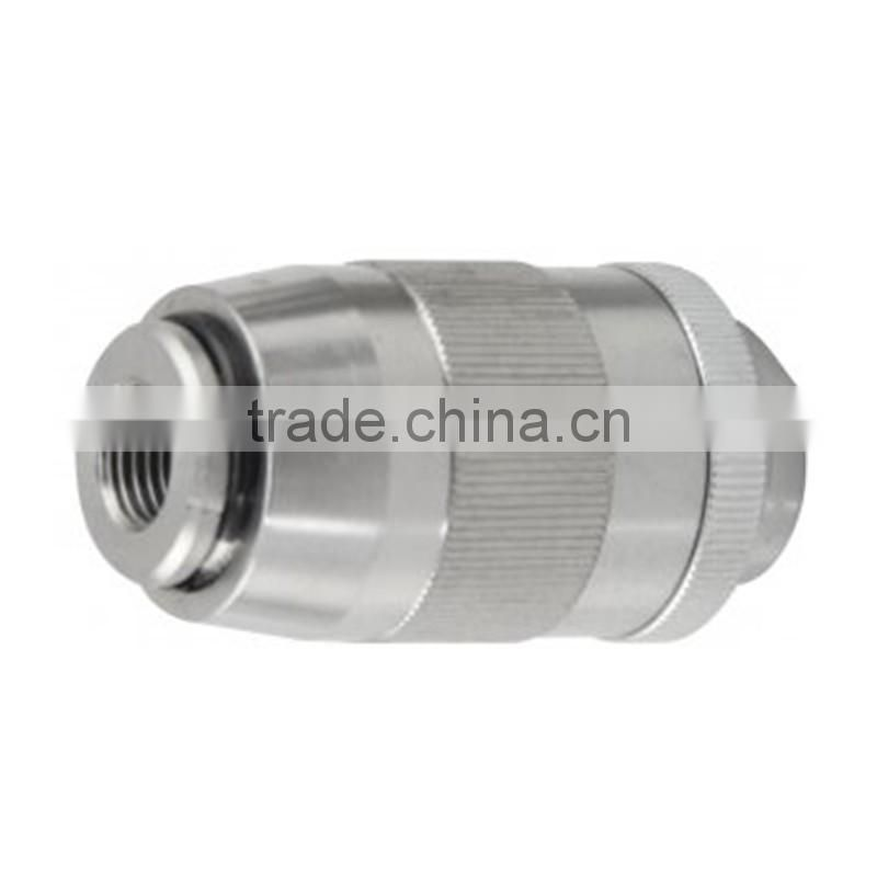 UBRF hydraulic flow restrictor valve