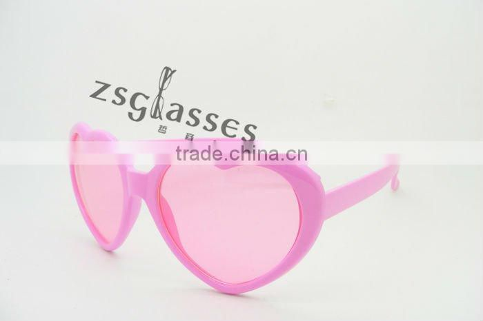 cheap fashion new design heart shaped sunglasses