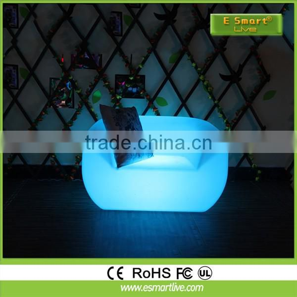 Hot sale advertising LED chair /inflatable LED chair /promotion table LED sofa