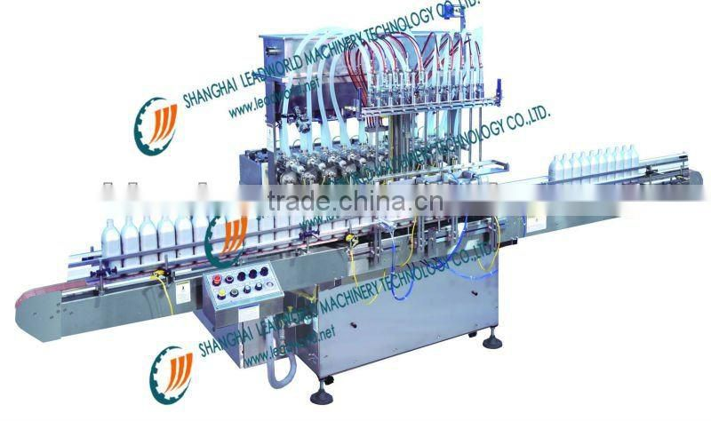 automatic single line hot sauce filling machine