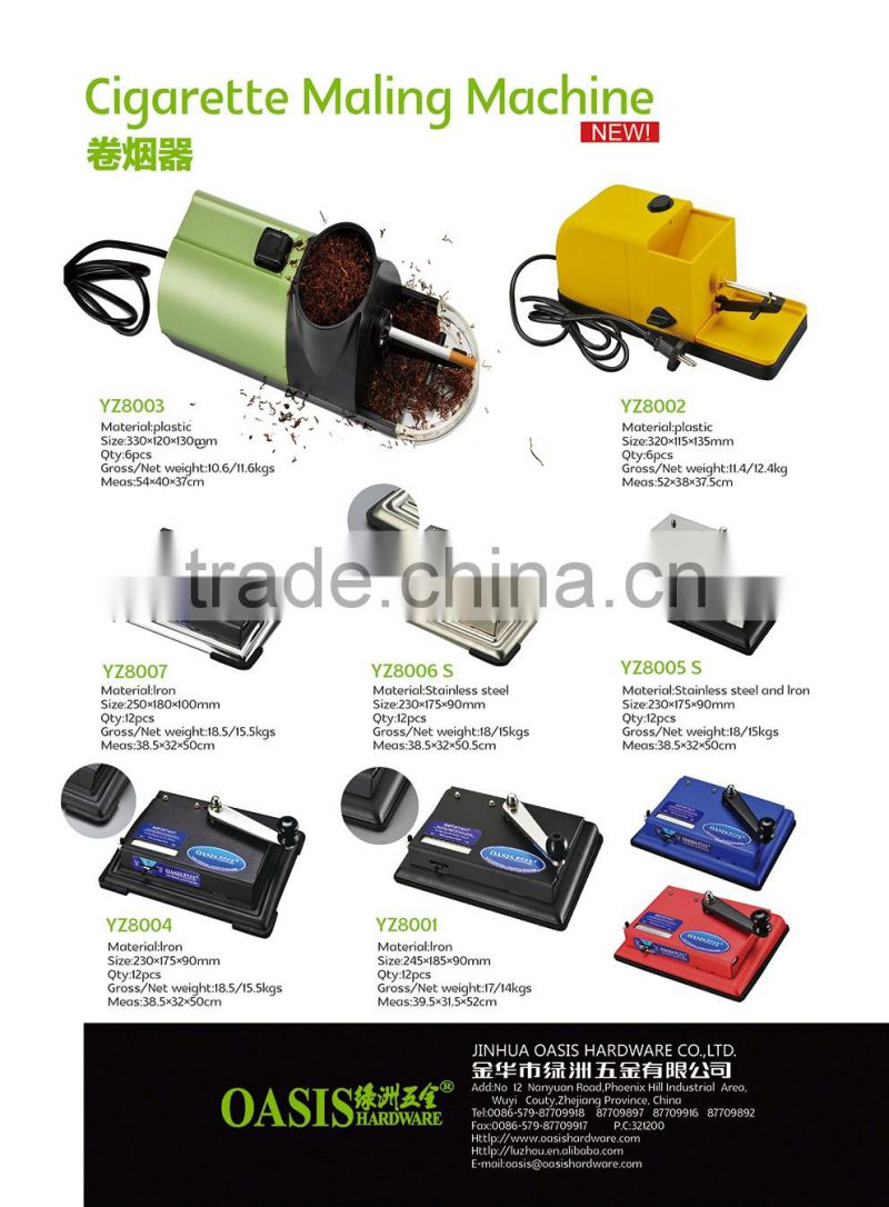 Hot sale electric cigarette maker with original manufacturer service