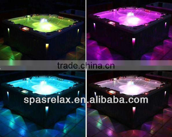Easily Install Freestanding solid surface bathtub/luxury outdoor spa----(A400)