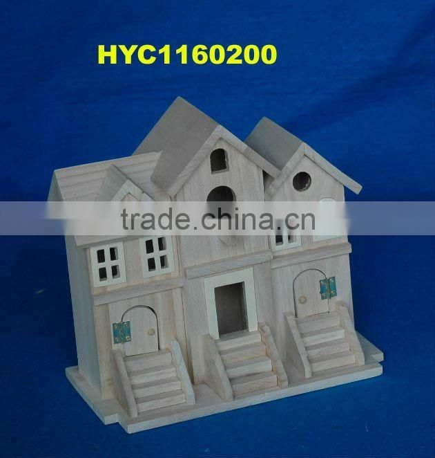 paulownia wood house, house case, craft toy